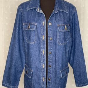 womens denim jacket hotter than a $2 pistol